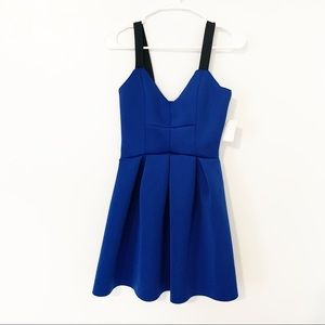 Charlotte Russe blue party dress